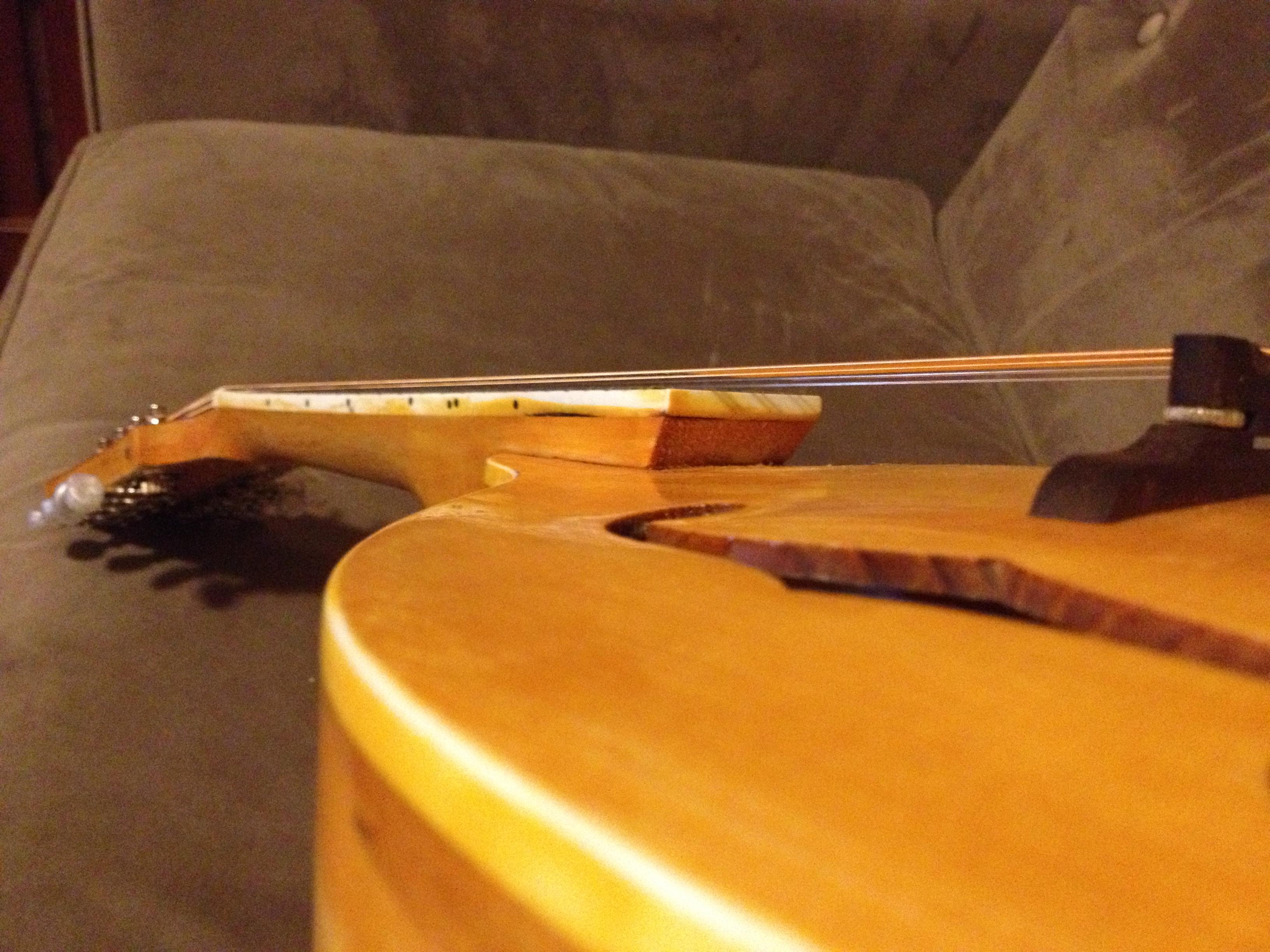 Finishing The Saga Mandolin Kit Shape Changing Instruments