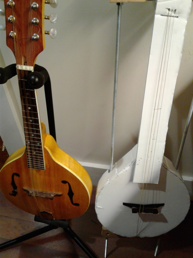 Foamboard Mandolin